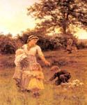The Garland 59 by  Frederick Morgan (Painting ID: CL-4059-KA)