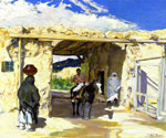 The Gateway by  Walter Ufer (Painting ID: LA-2473-KA)