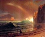 The Golden Gate by  Albert Bierstadt (Painting ID: LA-3409-KA)