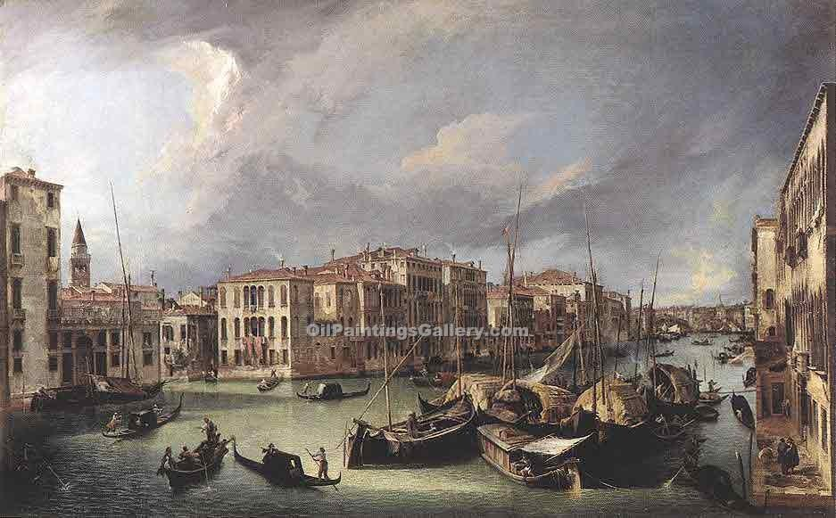 """The Grand Canal 13"" by  Antonio Canaletto"