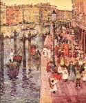 The Grand Canal, Venice 12 by  Maurice Brazil Prendergast (Painting ID: CI-1712-KA)