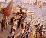 The Grand Canal, Venice 45 by  Ettore Tito (Painting ID: LA-2345-KA)