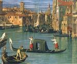 The Grand Canal and the Church of the Salute 19 by  Antonio Canaletto (Painting ID: CI-2019-KA)