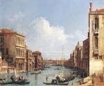 The Grand Canal from Campo S. Vio by  Antonio Canaletto (Painting ID: CI-2015-KA)