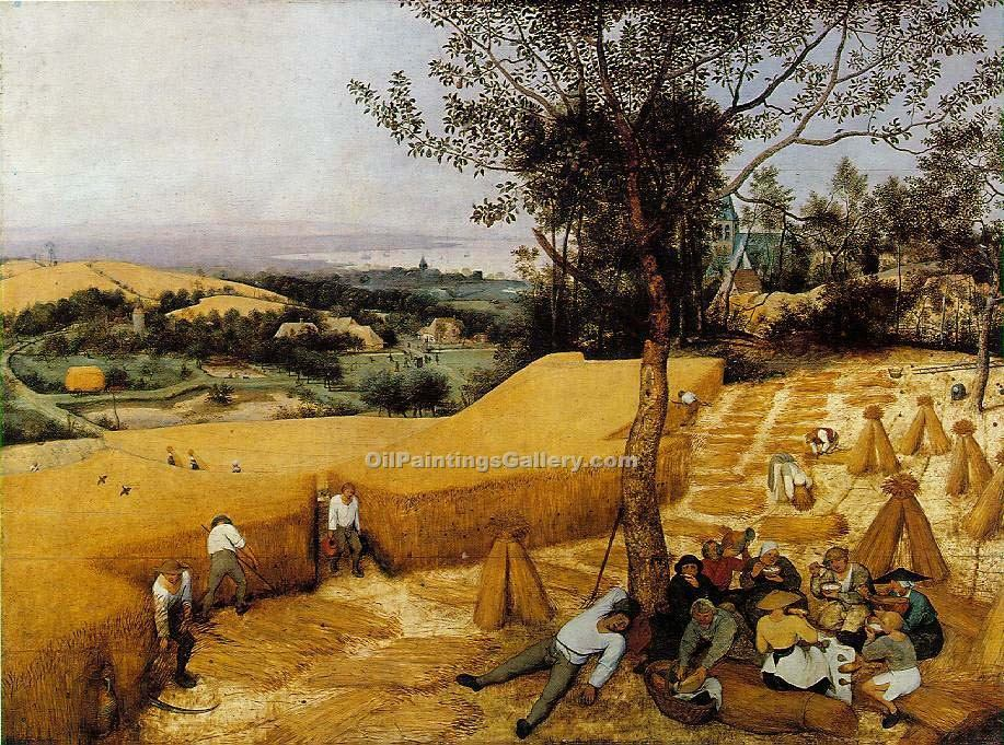 """The Harvesters"" by  Pieter the Elder Brueghel"