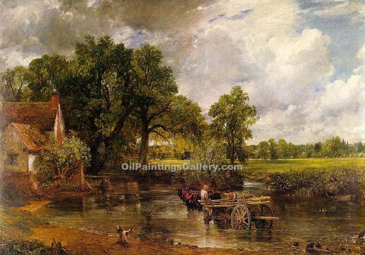 john constable s the haywain In 1824 three of constable's oil paintings, including the hay wain, were   sydney j key, john constable: his life and work (1948), is a sound account  one of.