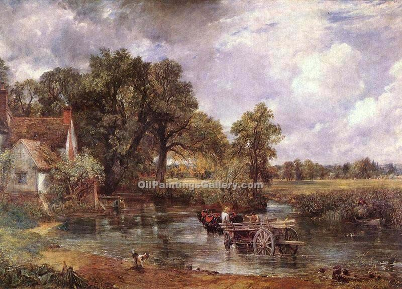 """The Haywain"" by  John Constable"