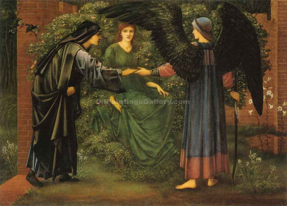 """The Heart of the Rose"" by  Edward Burne Jones"