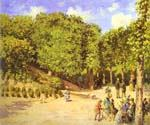 The Hermitage at Pontoise 24 by  Camille Pissarro (Painting ID: LA-0924-KA)