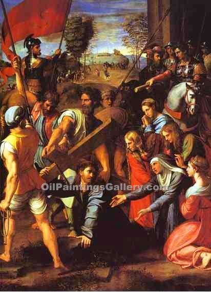 """The Hill of Calvary"" by  Sanzio Raphael"