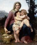 The Holy Family 26 by  Adolphe Bouguereau (Painting ID: CL-3426-KA)