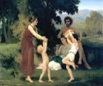 The Holy Family 8 by  Adolphe Bouguereau (Painting ID: CL-3428-KA)