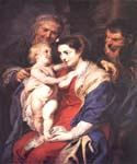 The Holy Family with St. Anne 23 by  Peter Paul Rubens (Painting ID: CM-1523-KA)