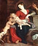 The Holy Family with the Basket 26 by  Peter Paul Rubens (Painting ID: CM-1526-KA)