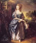 The Hon. Frances Duncombe by  Thomas Gainsborough (Painting ID: CM-1092-KA)