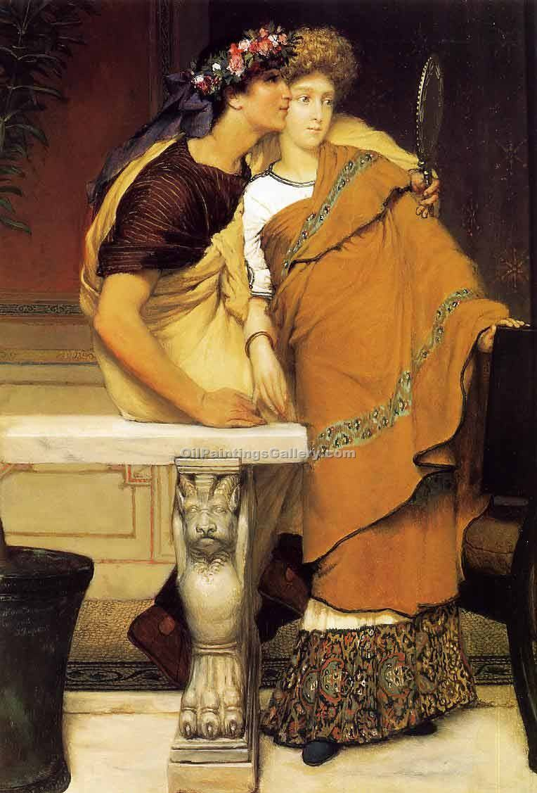 """The Honeymoon"" by  Sir Lawrence Alma Tadema"