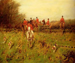 The Hunt 23 by  George Wright (Painting ID: AN-0233-KA)