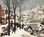 The Hunters in the Snow by  Pieter the Elder Brueghel (Painting ID: CL-6021-KA)