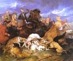 The Hunting of Chevy Chase by  Sir Edwin Henry Landseer (Painting ID: AN-1995-KA)