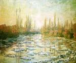 The Ice Floes by  Claude Monet (Painting ID: MO-1031-KA)