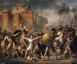 The Intervention of the Sabine Women by  Jacques Louis David (Painting ID: CL-4178-KA)