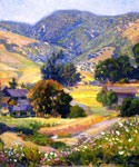 The Jeweled Hills by  Joseph Kleitsch (Painting ID: LA-2766-KA)