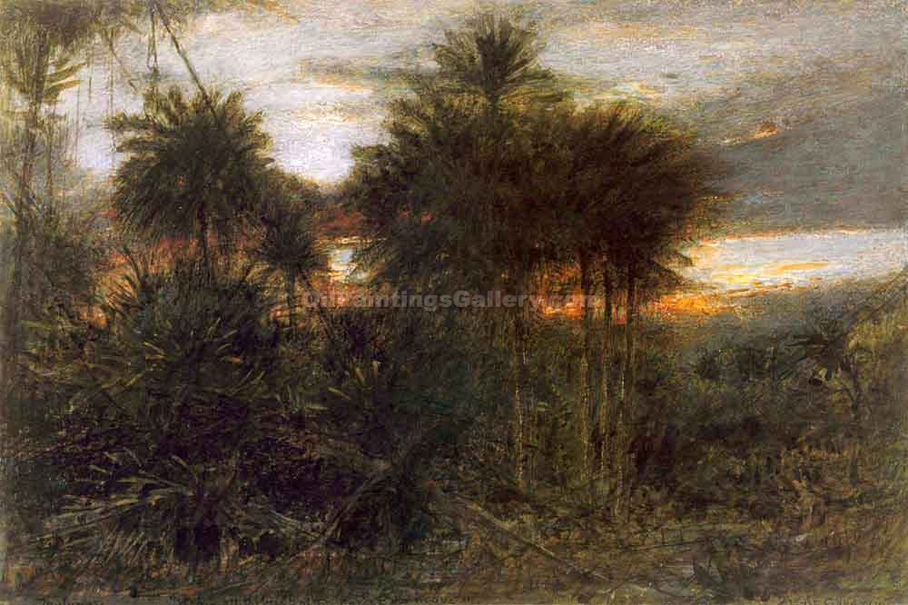 """The Jungle"" by  Albert Goodwin"