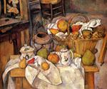 The Kichen Table by  Paul Cezanne (Painting ID: SL-2126-KA)