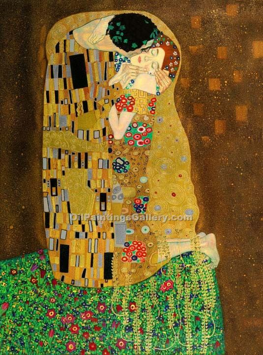 """The Kiss 31"" by  Gustav Klimt"