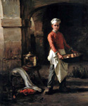 The Kitchen Boy by  Claude Joseph Bail (Painting ID: CO-0061-KA)