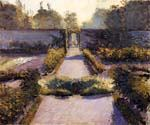 The Kitchen Garden Yerres by  Gustave Caillebotte (Painting ID: CL-0986-KA)