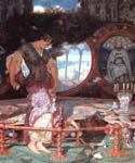 The Lady of Shalott 23 by  William Holman Hunt (Painting ID: CL-3223-KA)