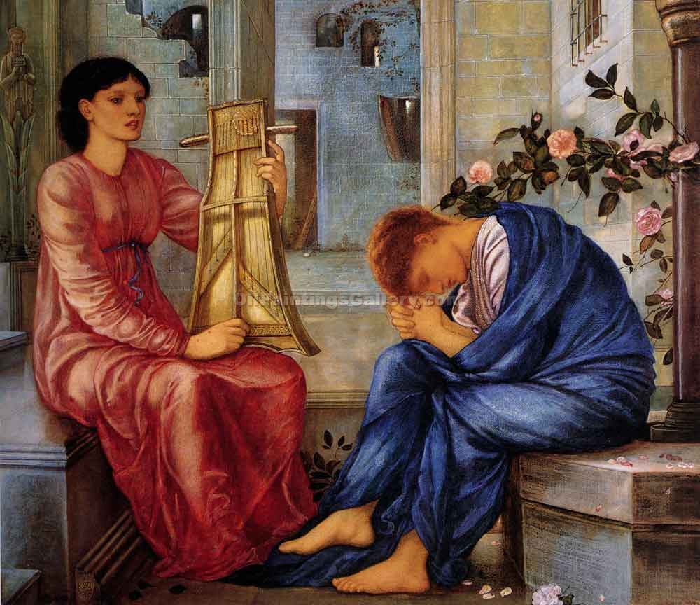 """The Lament"" by  Edward Burne Jones"