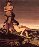 The Last Man by  Elihu Vedder (Painting ID: CL-0814-KA)