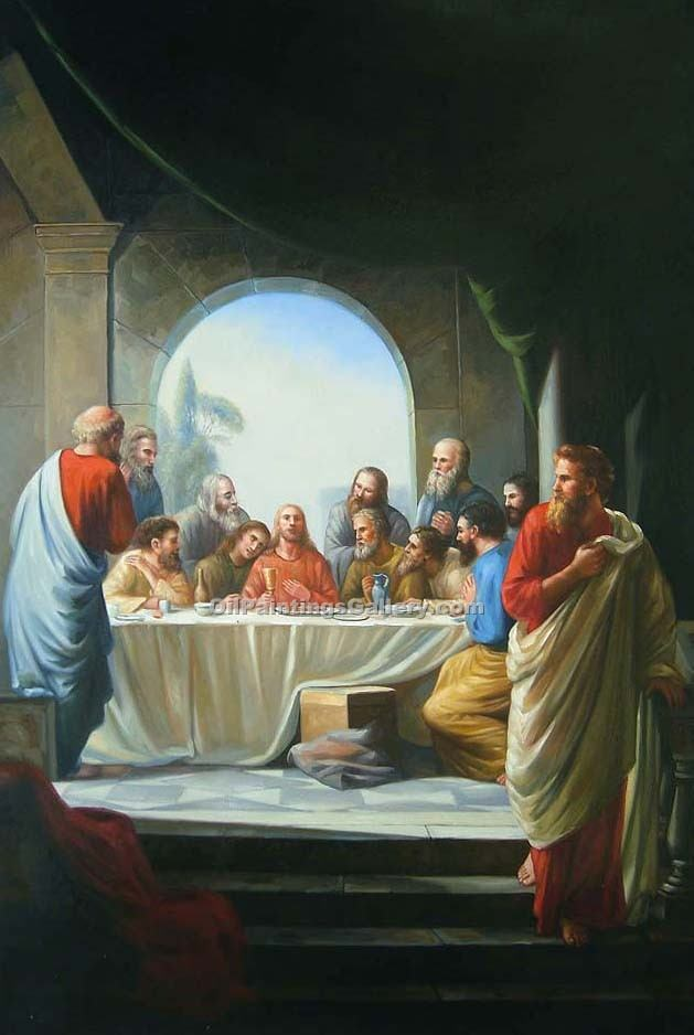 """The Last Supper 12"" by  Carl Heinrich Bloch"