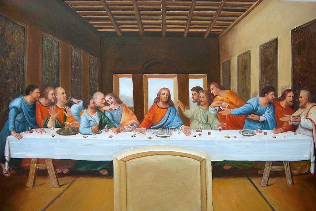 """The Last Supper 15"" by  Leonardo Da Vinci"