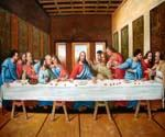 The Last Supper 16 by  Leonardo Da Vinci (Painting ID: DV-2016-KA)