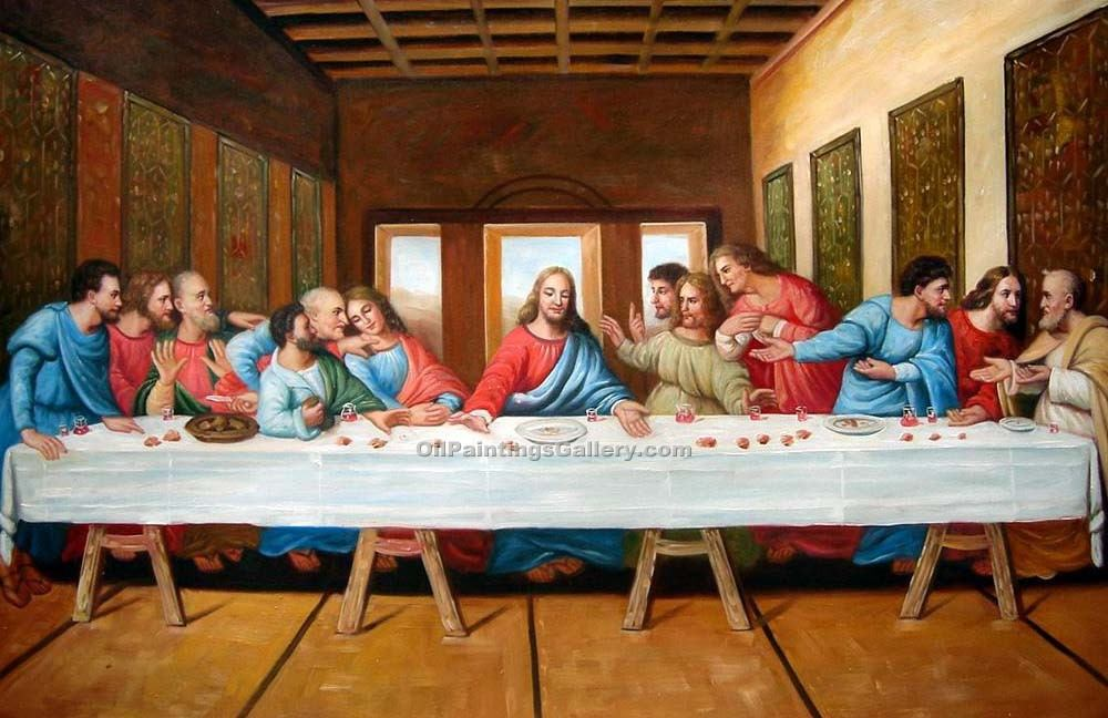 """The Last Supper 16"" by  Leonardo Da Vinci"