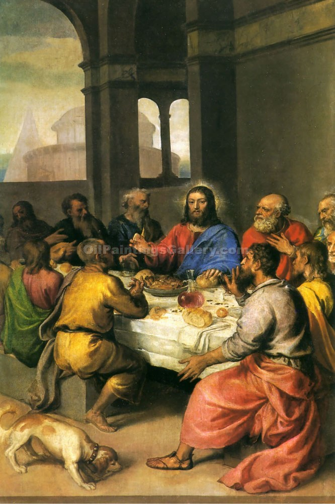 """The Last Supper 50"" by   Titian"