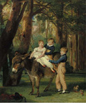 The Levett Children by  James Ward (Painting ID: AN-0162-KA)