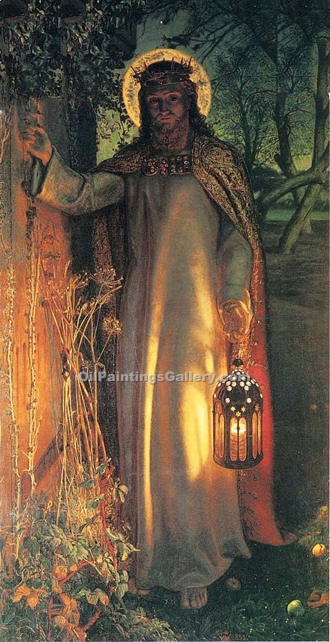 """The Light of the World"" by  William Holman Hunt"