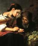 The Little Fruit Seller by  Bartolome Esteban Murillo (Painting ID: CL-0113-KA)
