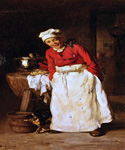 The Little Helper by  Claude Joseph Bail (Painting ID: CO-0063-KA)