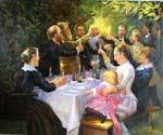 The Luncheon 08 Oil Painting (ID: CM-1108-C)