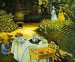The Luncheon 23 by  Claude Monet (Painting ID: MO-1123-KA)