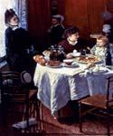 The Luncheon 75 by  Claude Monet (Painting ID: MO-1075-KA)