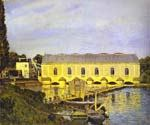 The Machine at Marly by  Alfred Sisley (Painting ID: LA-0351-KA)