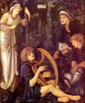 The Madness of Sir Tristram by  Edward Burne Jones (Painting ID: CL-7034-KA)