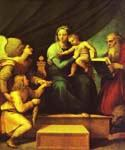 The Madonna of the Fish by  Sanzio Raphael (Painting ID: DA-3824-KA)