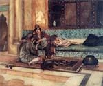 The Manicure by  Rudolf Ernst (Painting ID: ER-0139-KA)